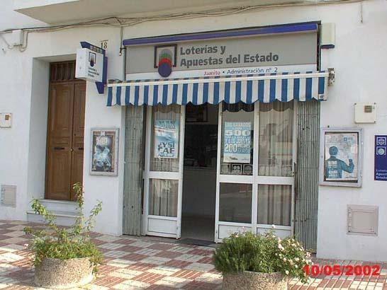 El primer premio de La Primitiva deja 1.599.000 euros en Alcalá Del Río