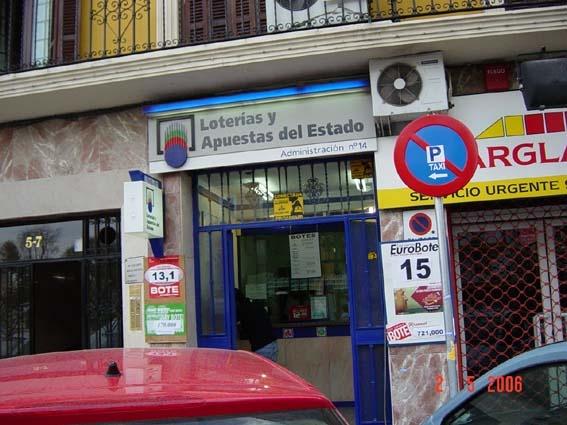 Vendido en Sevilla el segundo premio de La Bonoloto, dotado con 87.000 euros