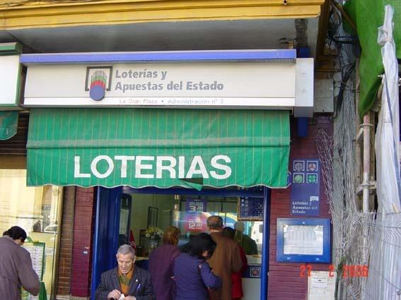Los 164.000 euros del primer premio de La Bonoloto tocan en Sevilla