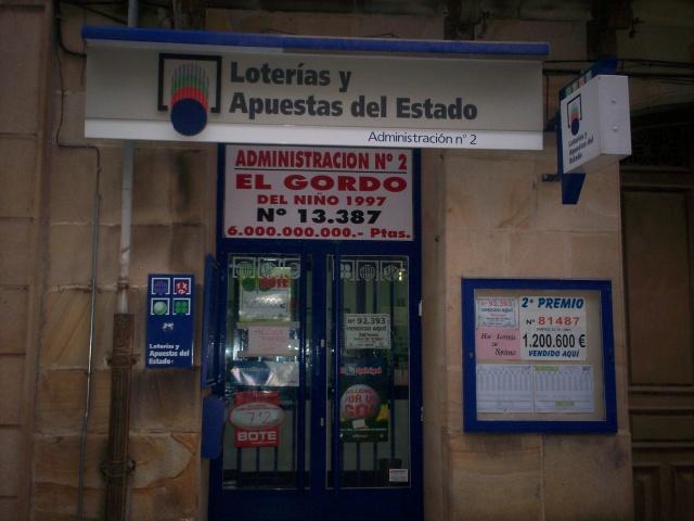 Un boleto de La Bonoloto deja  60.000 euros en Soria