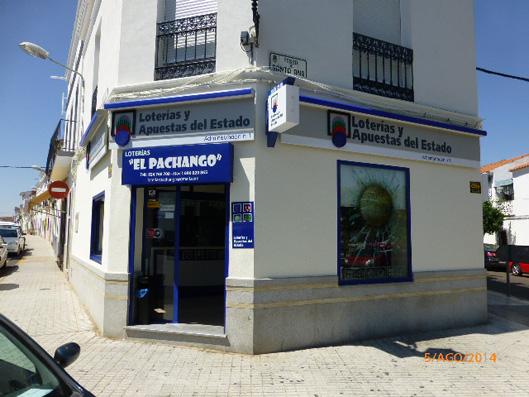 El sorteo de  La Primitiva deja en Castuera un primer premio dotado con 1.376.000 euros