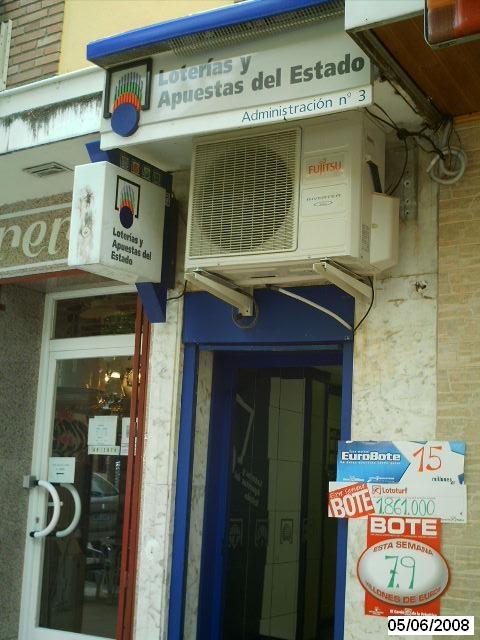 Vendido en Aranjuez el primer premio de La Bonoloto