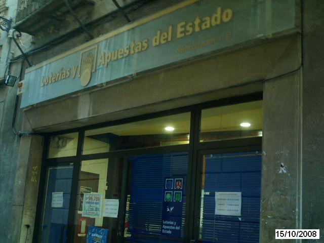 Vendido en Toledo el segundo premio de La Bonoloto