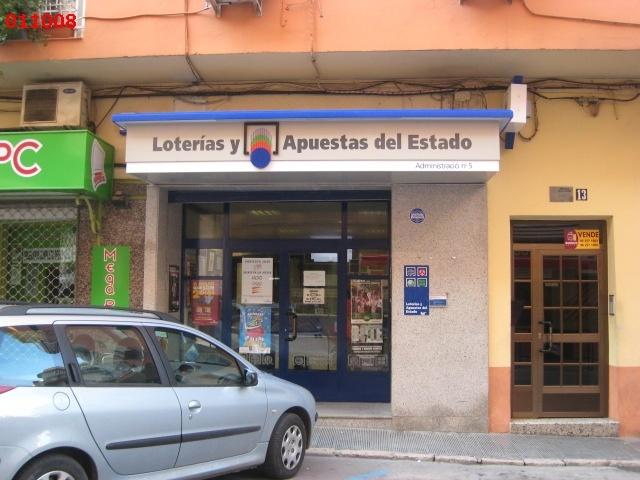 La localidad de XÀtiva ha sigo agraciada con el segundo premio de La Bonoloto.