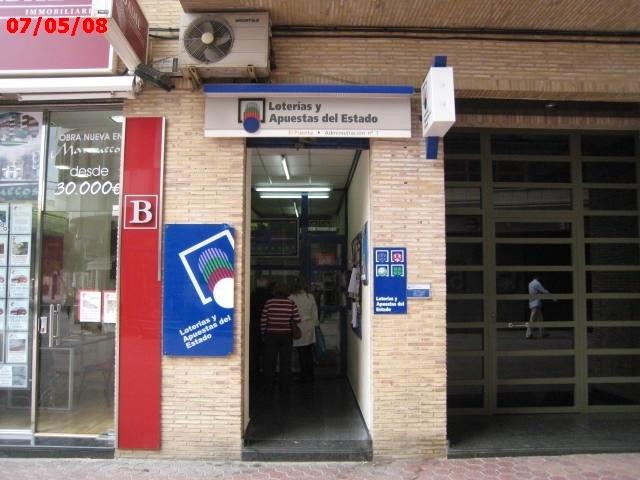 La Bonoloto deja mas de 29.000 euros en Alzira (Valencia)