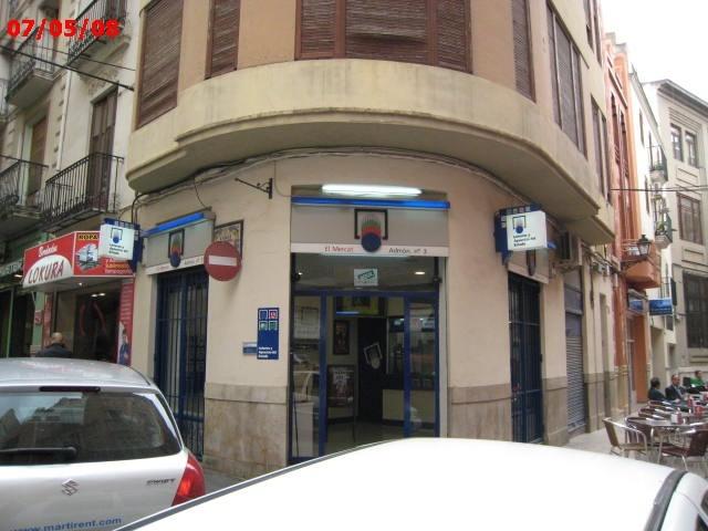 El primer premio de La Bonoloto, vendido en Alzira (Valencia)