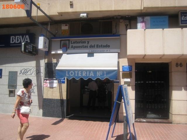 Los residentes en Benetússer agraciados en La Bonoloto al caer el segundo premio en Benetússer