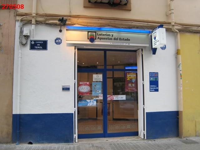 Valencia agraciada con el segundo premio de La Bonoloto