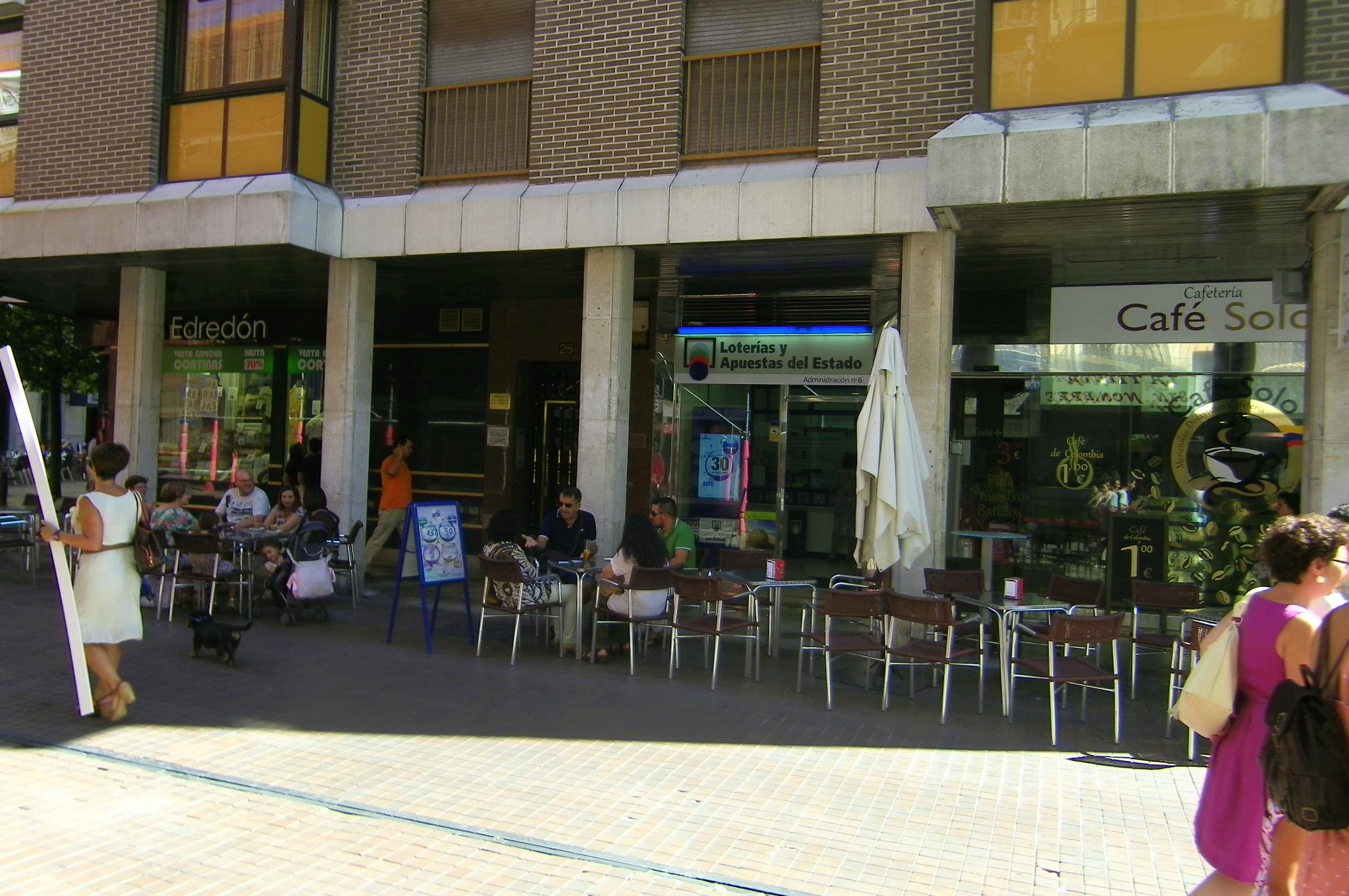 El sorteo de  La Bonoloto deja en Valladolid un segundo premio dotado con 44.000 euros