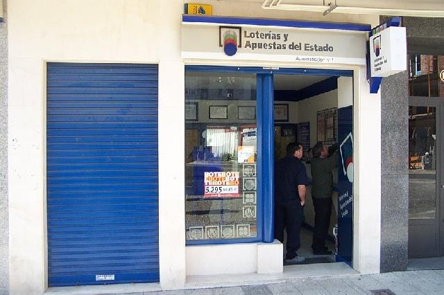 La Bonoloto deja un premio de segunda categoría de 49.000 euros en Salvatierra