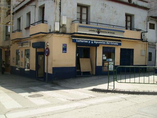 La localidad de La Almunia De Doña Godina ha sigo agraciada con el segundo premio de La Bonoloto.