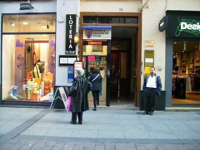 El Euromillones deja un buen pellizco en Zaragoza