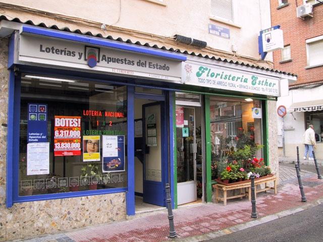 Vendido en Madrid el primer premio de La Primitiva