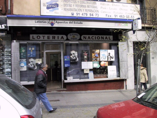 En Madrid están de enhorabuena con el segundo premio de La Bonoloto