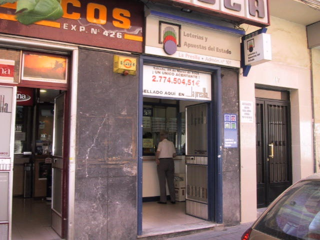 Vendido en Madrid el segundo premio de La Bonoloto, dotado con 172.000 euros