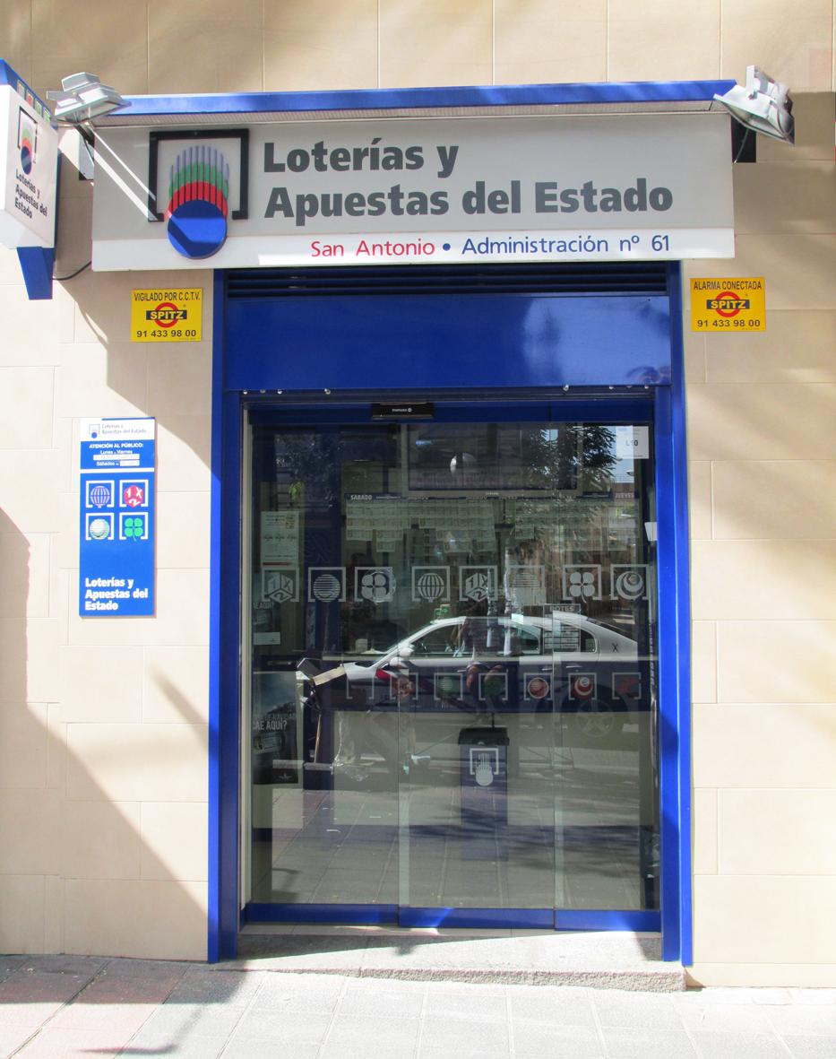 Un boleto de La Bonoloto sellado en Madrid ha obtenido un premio de 125.000 euros