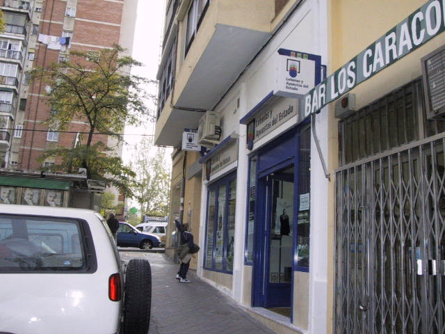 La Bonoloto. El segundo premio deja  75.000 euros en Madrid