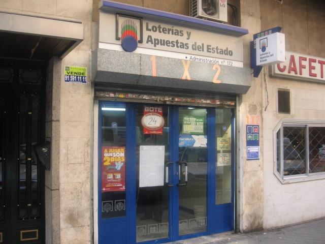 Un boleto de La Bonoloto validado en Madrid resulta agraciado con 45.000 euros
