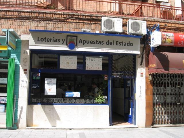 Un boleto de La Bonoloto sellado en Valdemoro ha obtenido un premio de 57.000 euros