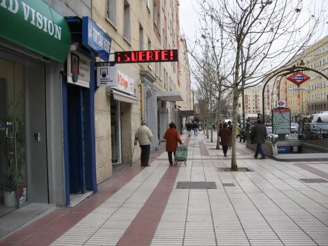 El primer premio de   La Bonoloto cae en Madrid