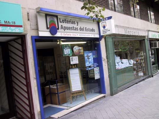 La Bonoloto deja un premio de segunda categoría de 62.000 euros en Madrid