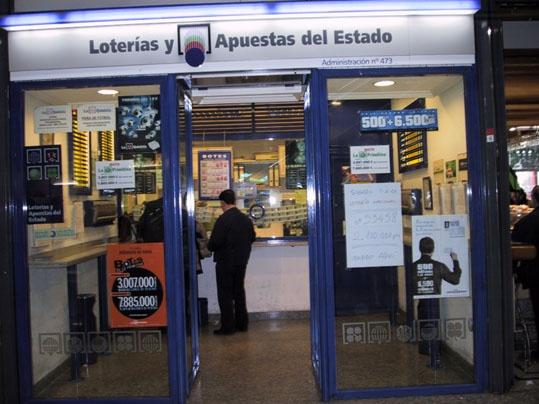Vendido en Madrid el primer premio de La Primitiva, dotado con 1.490.000 euros