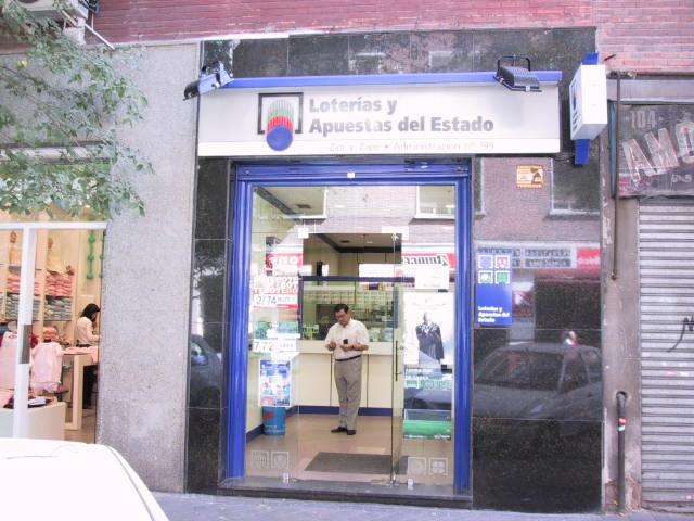 La Bonoloto deja en Madrid un premio de segunda categoría dotado con 37.000 euros