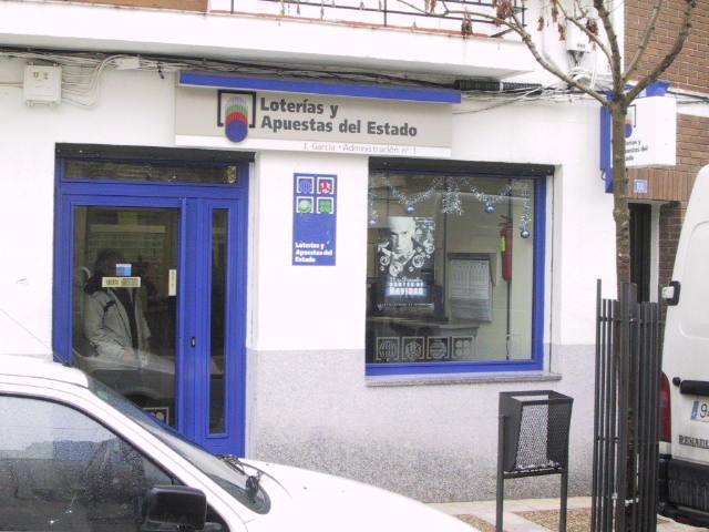 Vendido en Navalcarnero el segundo premio de La Bonoloto, dotado con 8.000 euros