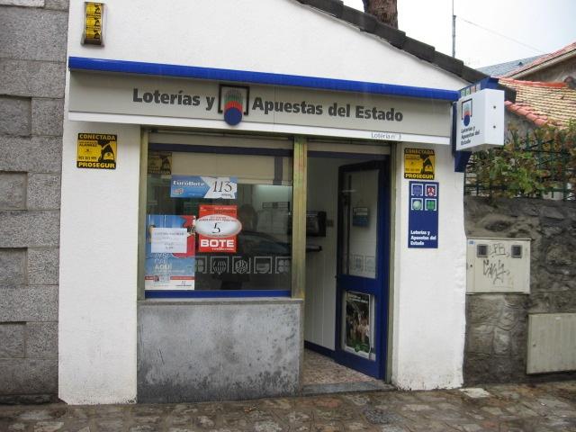 Aparece un premio de segunda categoría del La Bonoloto validado en San Lorenzo Del Escorial