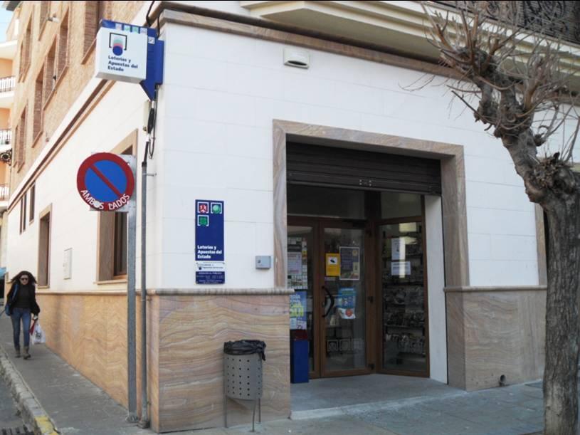 Un boleto de La Bonoloto validado en Ibi resulta agraciado con 73.000 euros