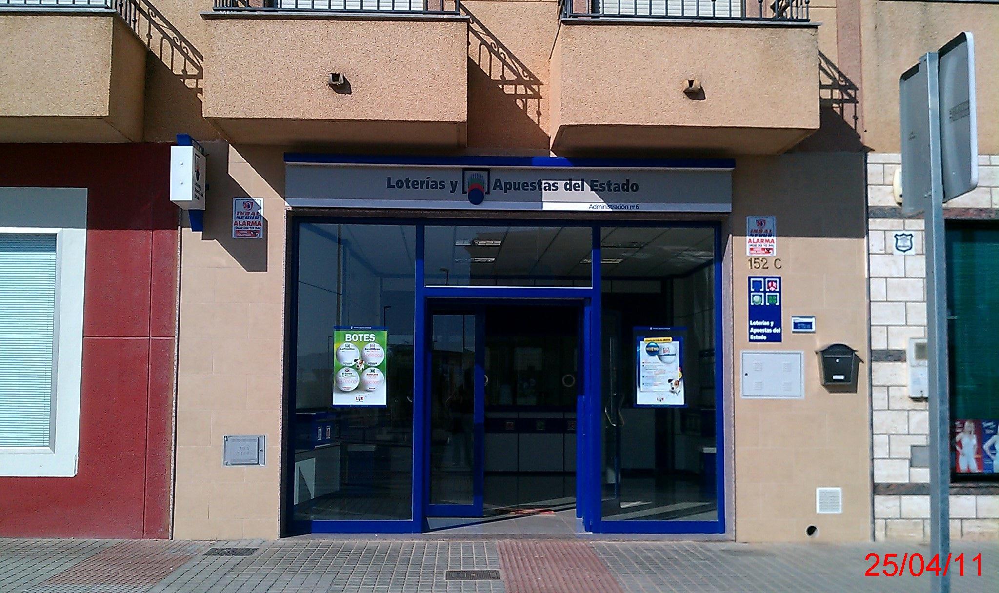 La Bonoloto. Un premio de  300.000 euros en El Ejido