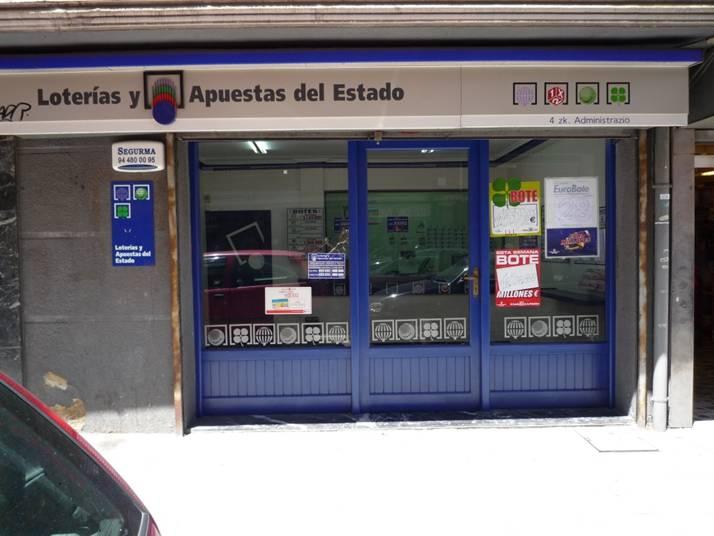Un boleto de La Bonoloto deja  90.000 euros en Basauri