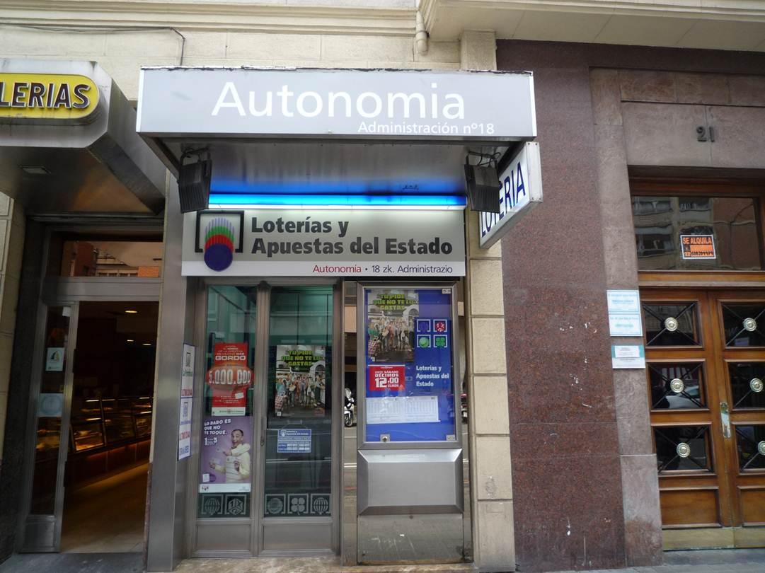 El segundo premio de El Euromillones, vendido en Bilbao (Bizkaia)