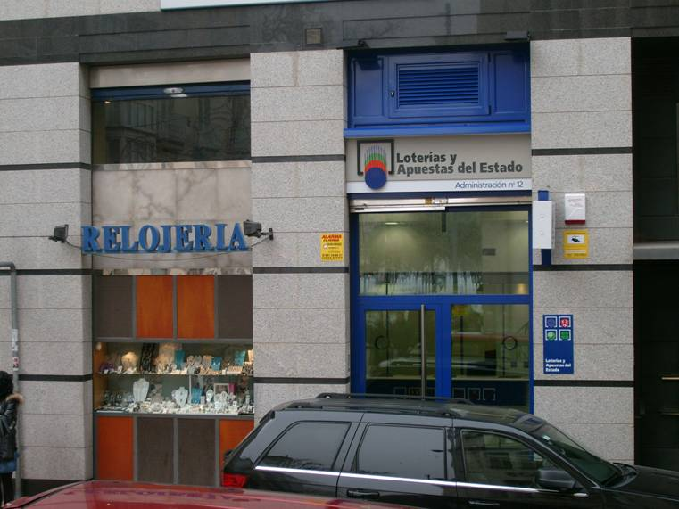 Vendido en Burgos el segundo premio de La Bonoloto