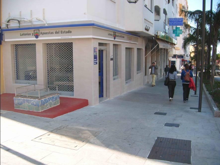 La Bonoloto. El segundo premio deja  55.000 euros en Arroyo De La Miel