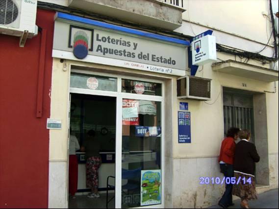 Vendido en Las Cabezas De S. Juan el segundo premio de La Bonoloto