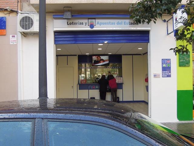 Un vecino de Valencia agraciado con 781.000 en La Primitiva