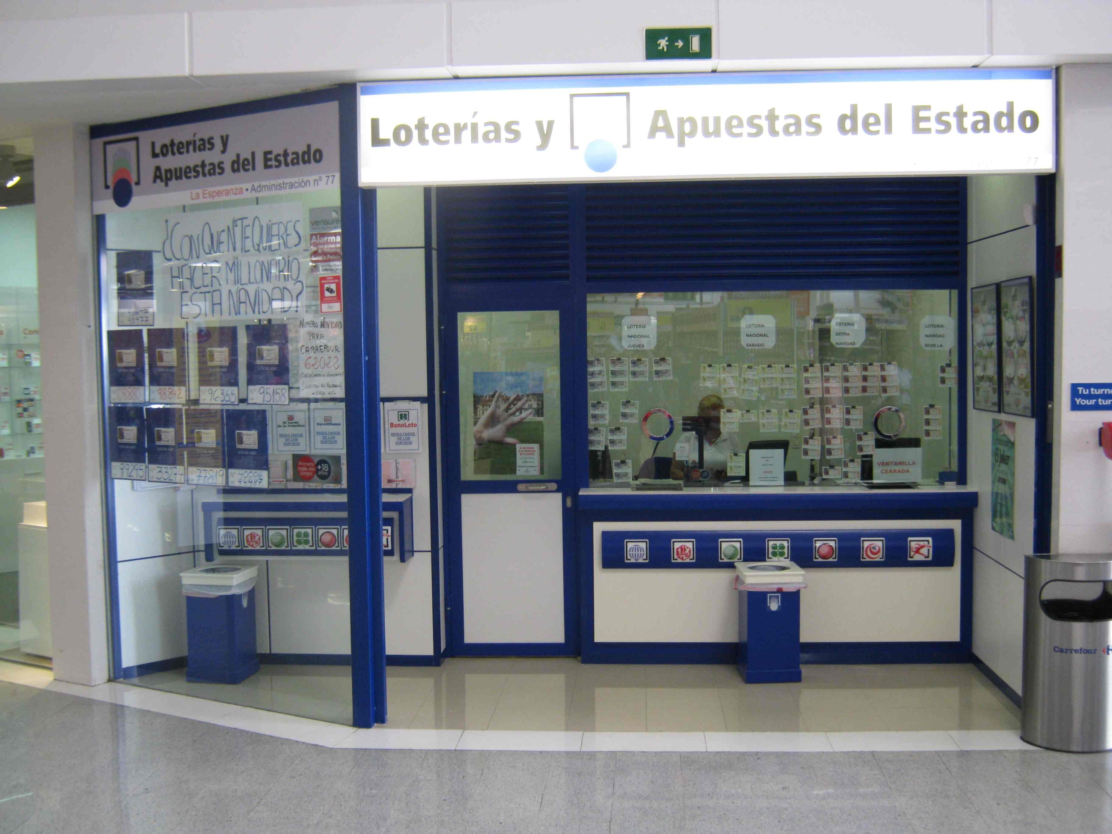 La Bonoloto. El segundo premio deja  28.000 euros en Torremolinos
